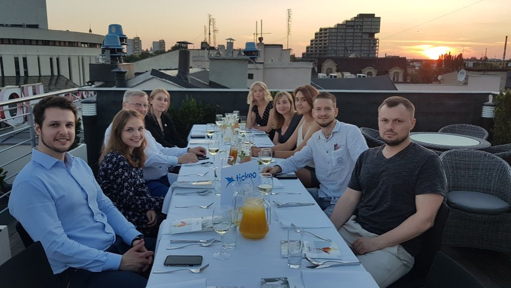 wizyta studyjna dziennikarzy z Ukrainy