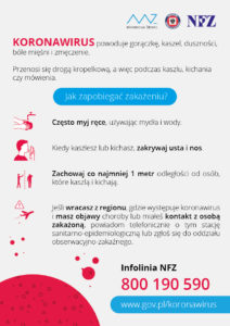 koronawirus plakat